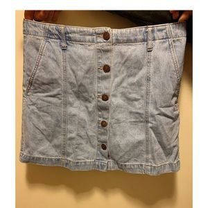 Forever 21 Jean Skirt (with pockets!)